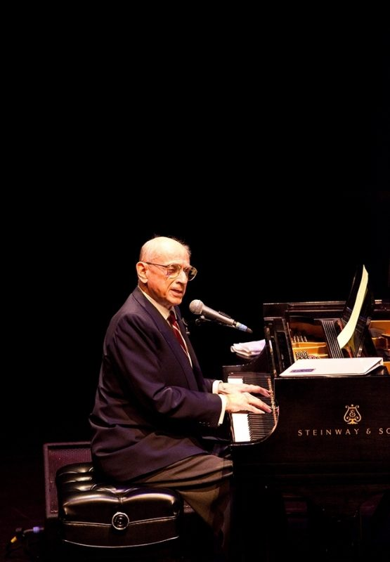 Dave Frishberg performing at 2011 Portland Jazz Festival