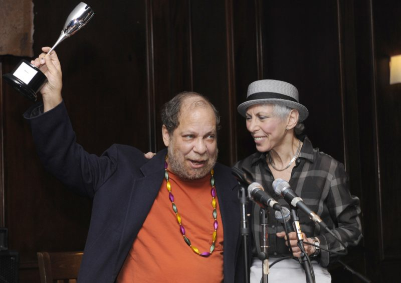 Eric Jackson and Pauline Bilsky at Eric in Two Evenings event at Scullers