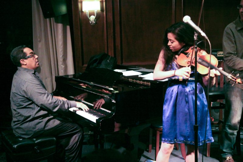 Danilo Perez and Marrissa Licata performing at Eric in Two Evenings event at Scullers