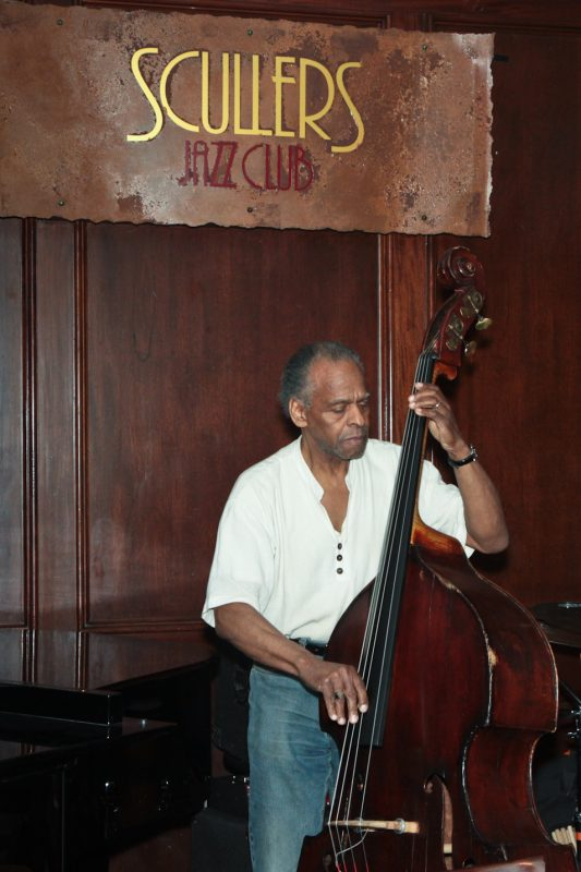 Cecil McBee performing at Eric in Two Evenings event at Scullers