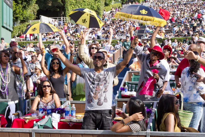 Crowd at the 2011 Playboy Jazz Festival