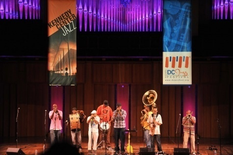 """Rebirth Brass Band at """"A Night in Treme"""""""