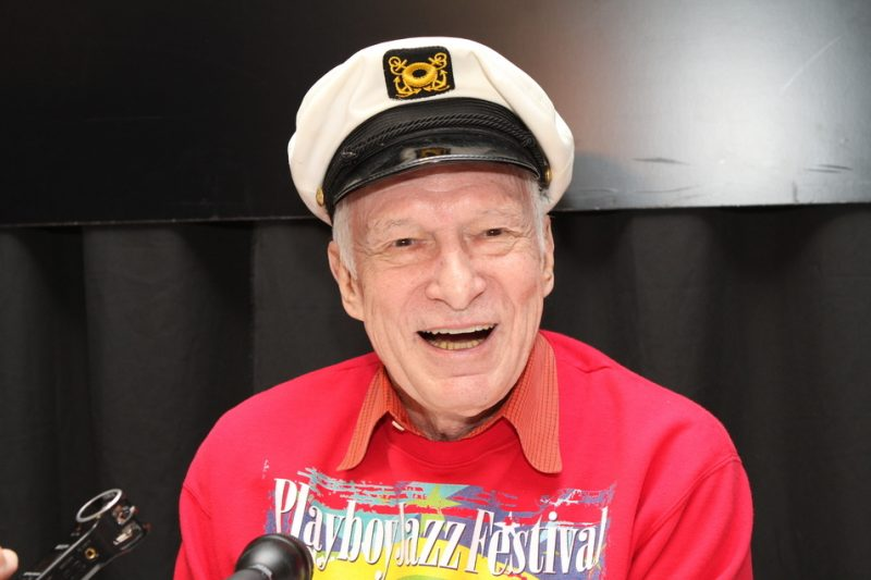 Hugh Hefner at the 2011 Playboy Jazz Festival