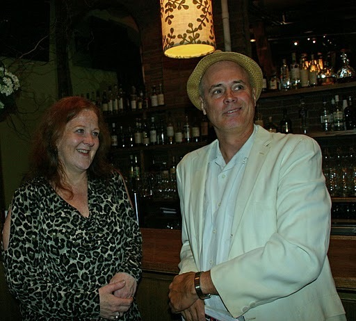 Claire Daly and Lee Mergner at the 2011 JJA awards ceremony at City Winery in NYC