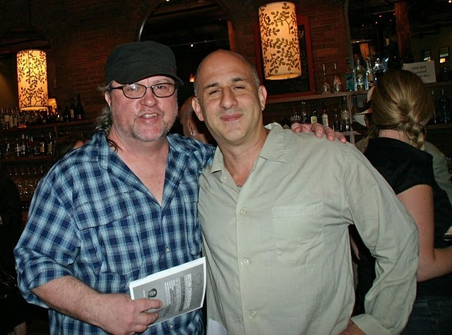 Bill Milkowski and Larry Blumenfeld at the 2011 JJA awards ceremony at City Winery in NYC