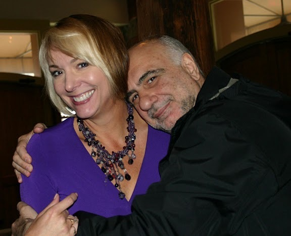 Yvonne Ervin and Enzo Capua at the 2011 JJA awards ceremony at City Winery in NYC