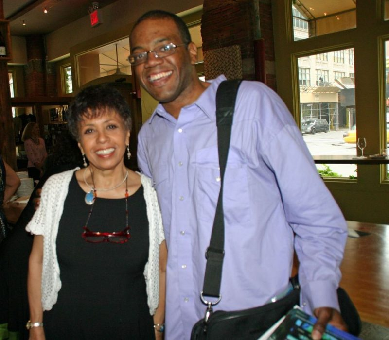 Joan Watson-Jones and Jerald Miller at the 2011 JJA awards ceremony at City Winery in NYC