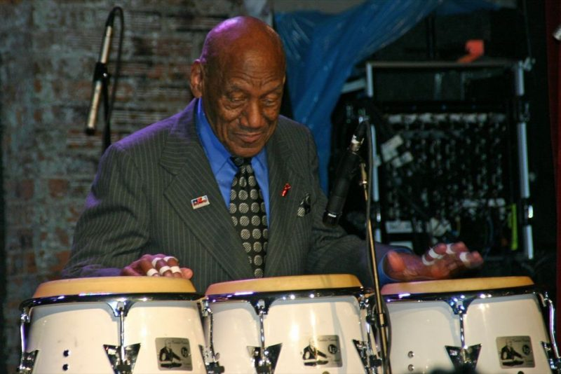 Candido performing at the 2011 JJA awards ceremony at City Winery in NYC