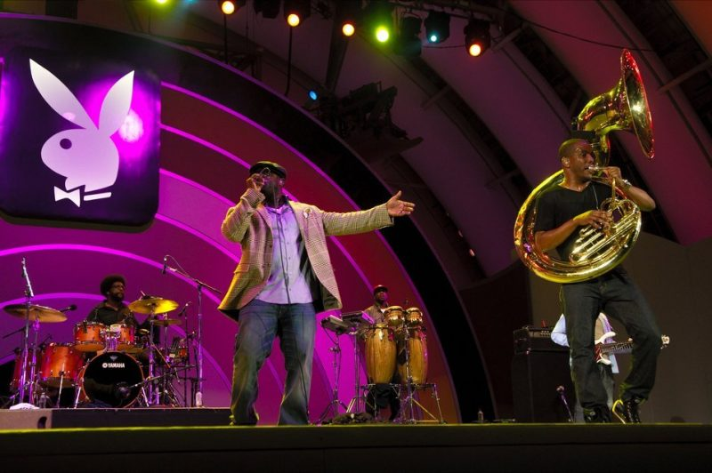 The Roots performing at the 2011 Playboy Jazz Festival