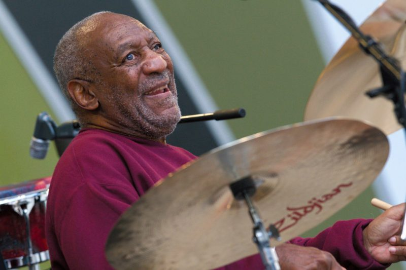 Biill Cosby performing at the 2011 Playboy Jazz Festival