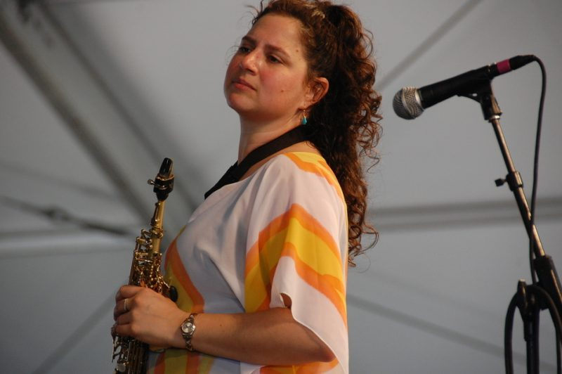 Anat Cohen at the 2011 New Orleans Jazz & Heritage Festival