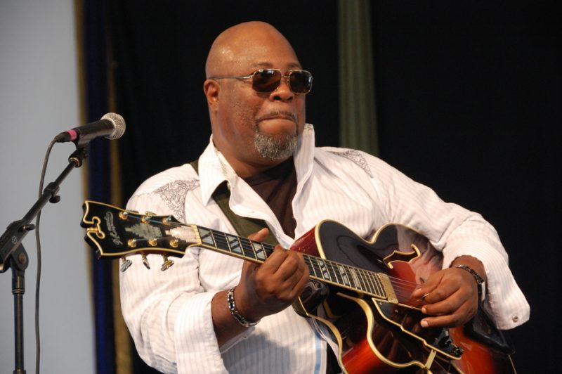 Grant Green, Jr. at the 2011 New Orleans Jazz & Heritage Festival