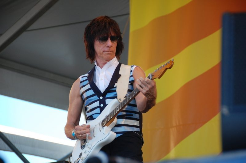 Jeff Beck  at the 2011 New Orleans Jazz & Heritage Festival