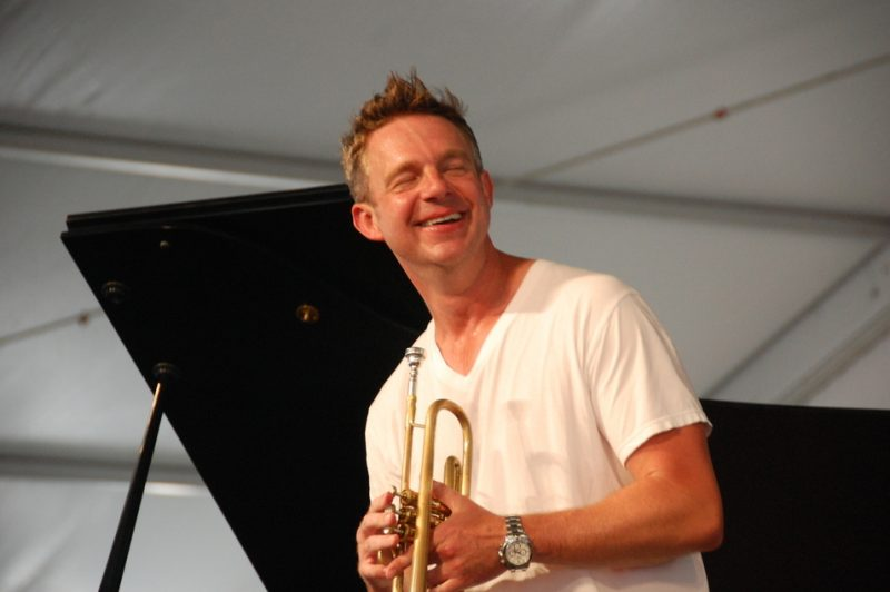 Jeremy Davenport at the 2011 New Orleans Jazz & Heritage Festival