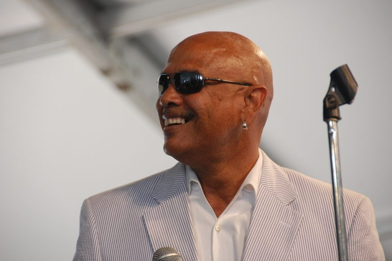 Phillip Manuel at the 2011 New Orleans Jazz & Heritage Festival