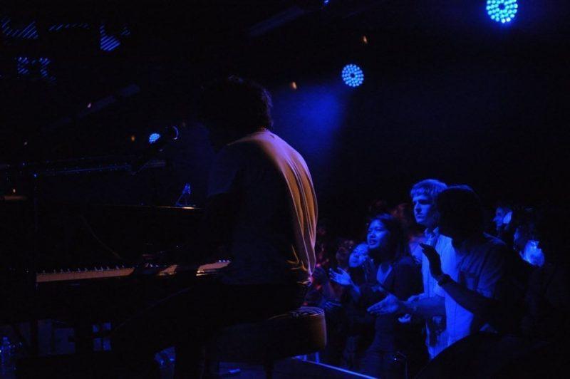 Jamie Cullum in performance at BluesFest held at Under the Bridge in London