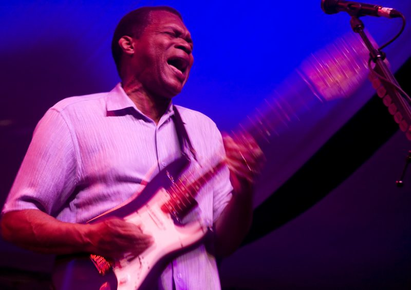 Robert Cray band in performance at 2011 TD Toronto Jazz Festival
