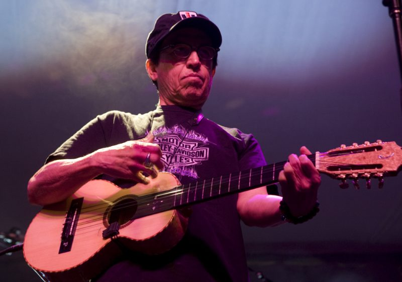 Louie Perez of Los Lobos in performance at 2011 TD Toronto Jazz Festival