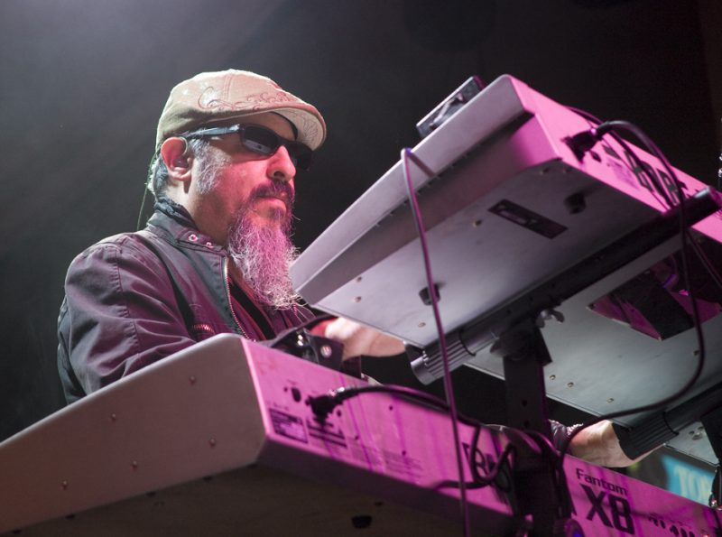 Steve Berlin of Los Lobos in performance at 2011 TD Toronto Jazz Festival