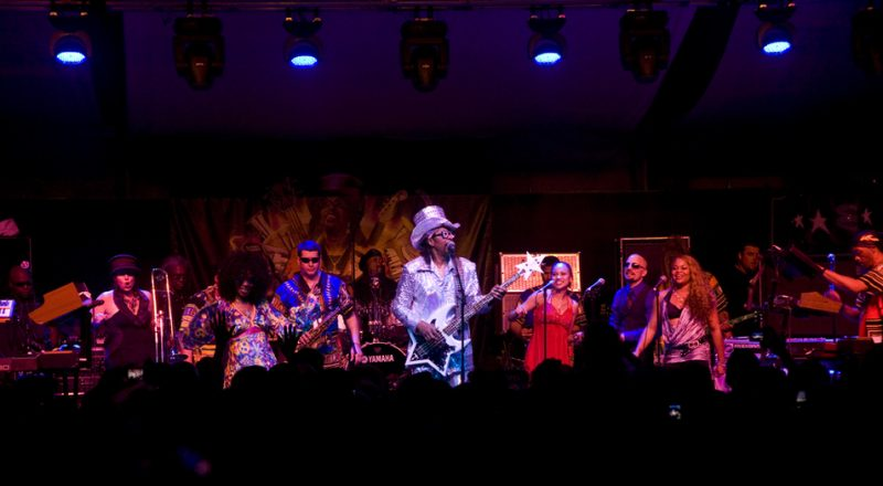 Bootsy Collins in performance at 2011 TD Toronto Jazz Festival