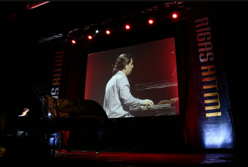 Alfredo Rodriguez in Congress Centre at 2011 Riga Jazz Festival