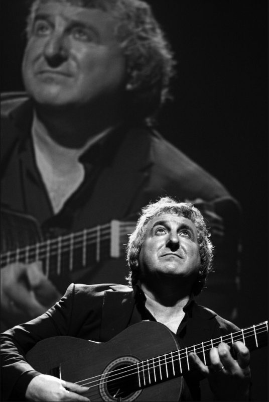 Eduardo Niebla in Congress Centre at 2011 Riga Jazz Festival