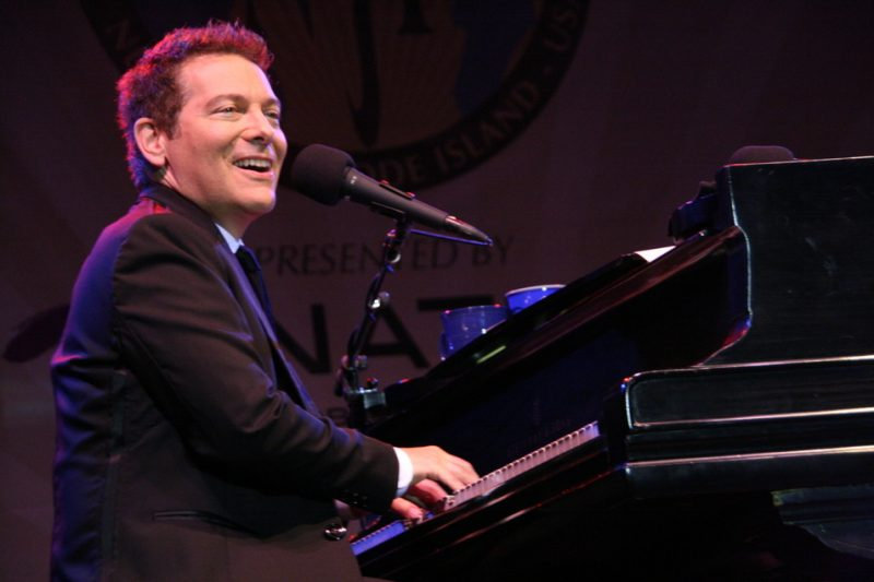 Michael Feinstein performing during the 2011 Newport Jazz Festival