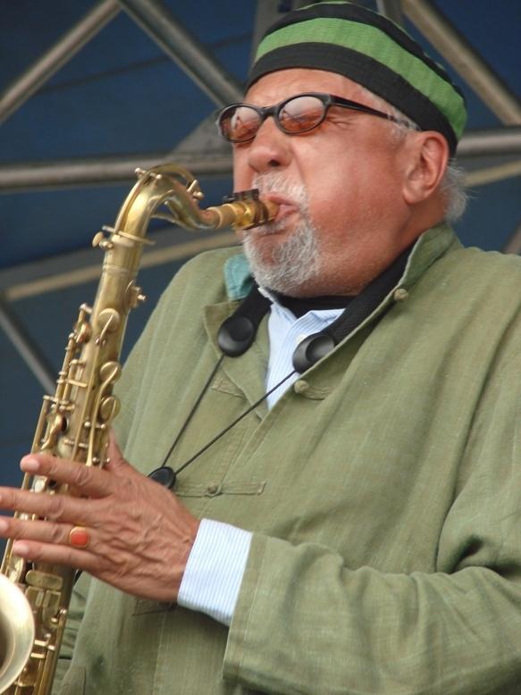 Charles Lloyd at the 2011 Newport Jazz Festival