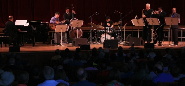 Jimmy Cobb's Coast to Coast All Stars made their debut Sunday at the Tanglewood Jazz Festival