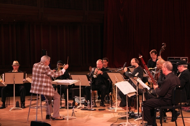 Gunther Schuller conducts the Mingus Orchestra at the 2011 Tanglewood Jazz Festival