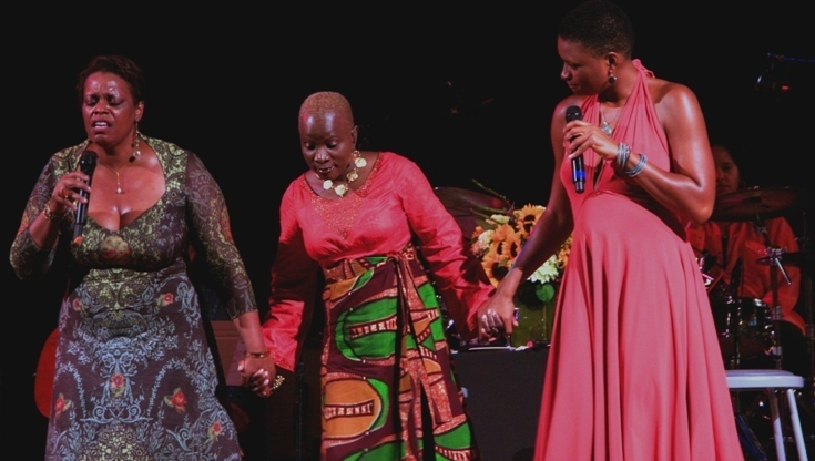Dianne Reeves, Angelique Kidjo and Lizz Wright Sing The Truth at the 2011 Tanglewood Jazz Festival