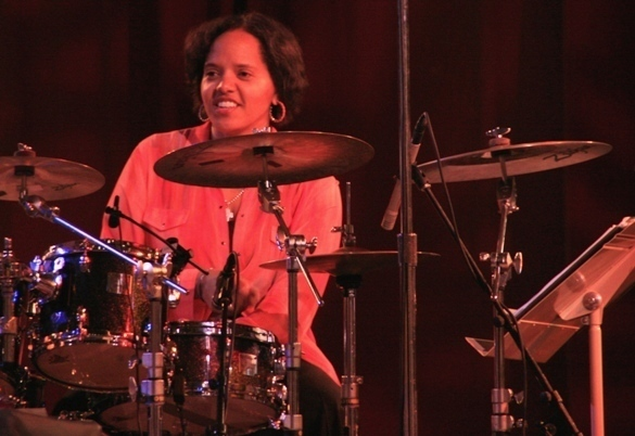 Sing The Truth musical director Terri Lyne Carrington at the 2011 Tanglewood Jazz Festival