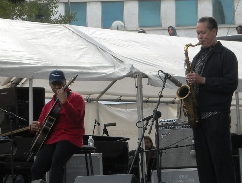 Kevin Eubanks at the 2011 Detroit Jazz Festival