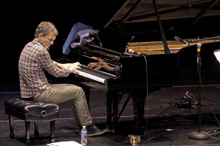 Brad Mehldau in performance at Zellerbach Theater in Philadelphia