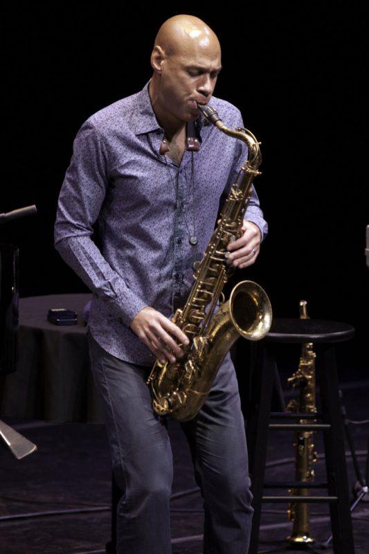 Joshua Redman in performance at Zellerbach Theater in Philadelphia