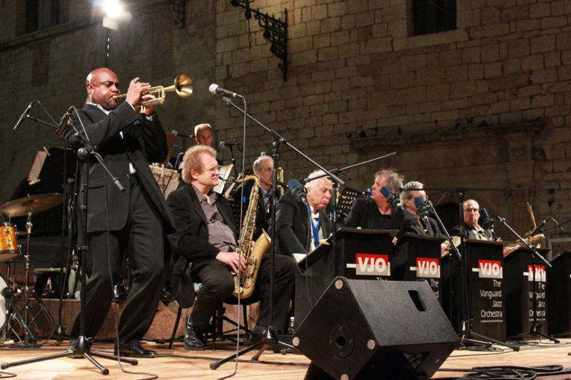 Terell Stafford and the Vanguard Jazz Orchestra in Assisi, italy
