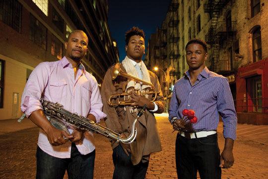 David Sánchez, Christian Scott and Stefon Harris