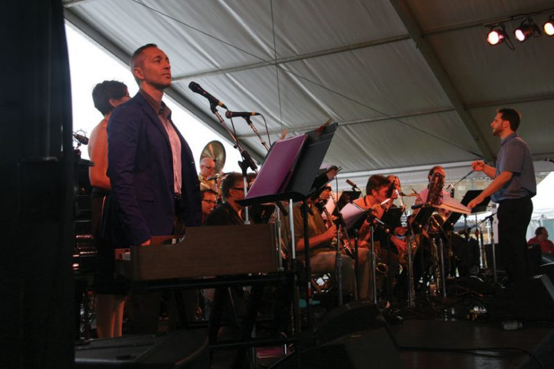 John Hollenbeck and his Large Ensemble