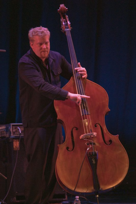 Clark Sommers performing with Kurt Elling at Montgomery County Community College