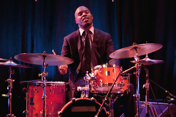 Ulysses Owens, Jr. performing with Kurt Elling at Montgomery County Community College