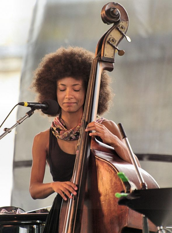 2010 Grammy award winner for best new artist Esperanza Spalding