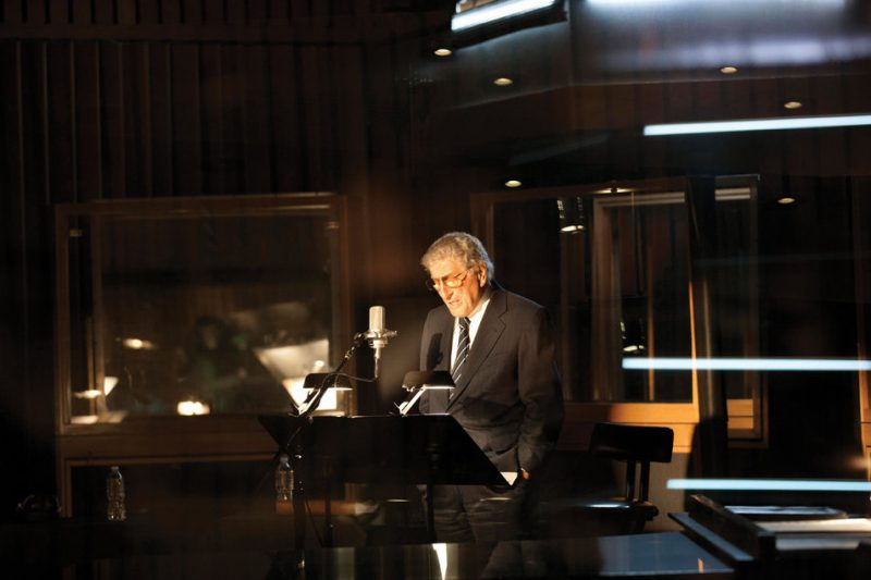Tony Bennett at L.A.'s Capitol Studios, February 2011