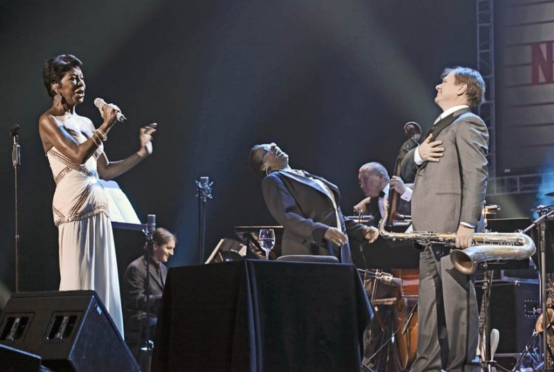 Natalie Cole with Igor Butman