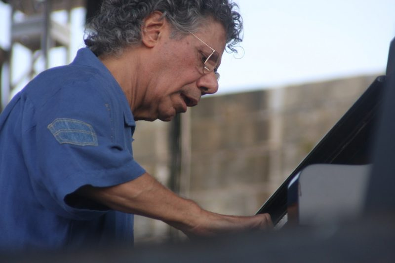 Chick Corea performing with his Freedom Band at CareFusion Newport Jazz Festival 2010