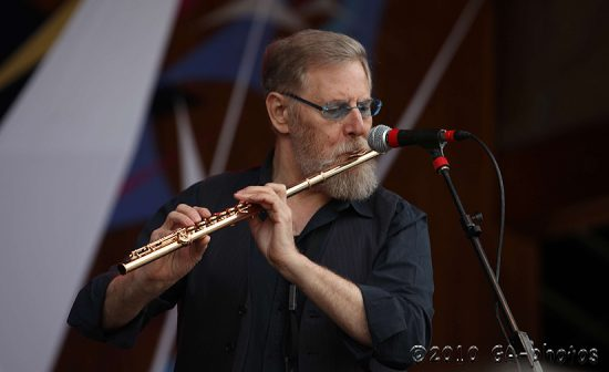 Lew Tabackin at the 2010 Telluride Jazz Celebration image 0