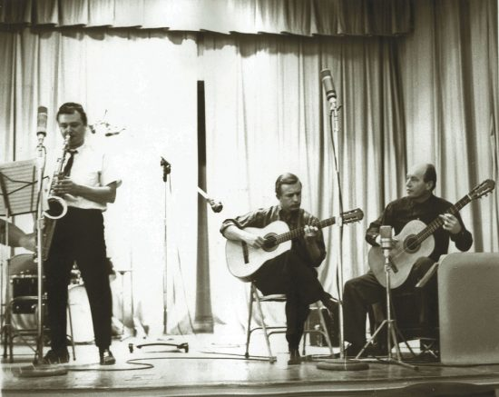 Stan Getz, Joe Byrd and Charlie Byrd from the Jazz Samba session image 0