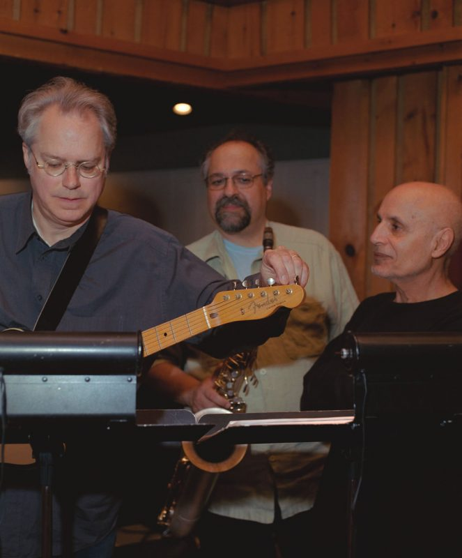 Bill Frisell, Joe Lovano and Paul Motian
