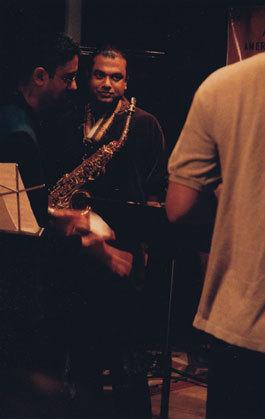 Vijay Iyer and Rudresh Mahanthappa, NYC, 2001