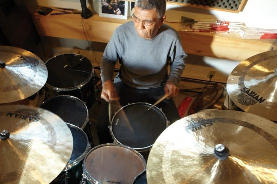 Jack DeJohnette at home in the Catskills image 0