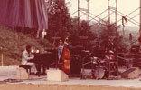 Bill Evans, Eddie Gomez and Eliot Zigmund (from left) in 1975